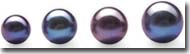 loose black pearls