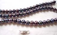 custom made black pearls