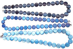 bluepearls necklace