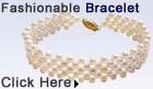 5-row potato pearl bracelet