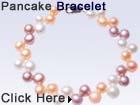 pancake pearl bracelet