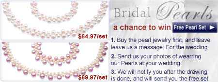 bridal pearl jewelry