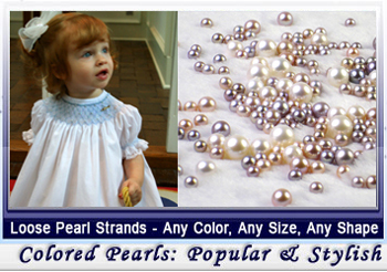 loose pearl strands