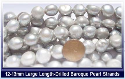grey pearl jewelry