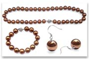 southsea shell pearl set