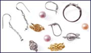 pearl clasps and findings