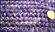 purple crystal beads
