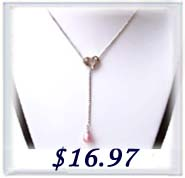 lariat drop pearl necklace
