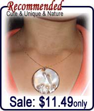 round shaped pendant
