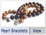 2-row pearl bracelet