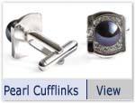 freshwater pearl cufflinks
