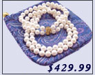 classical pearl necklace