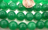 Jade Beads on Temporary Strands from 4mm to 16mm