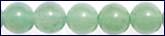 jade beads on temporarily strand