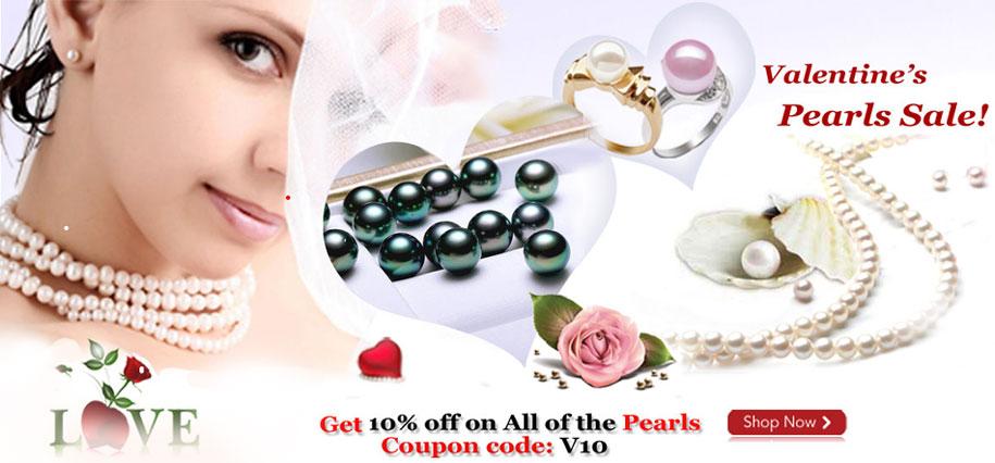 Valentine's Day Pearls Sale