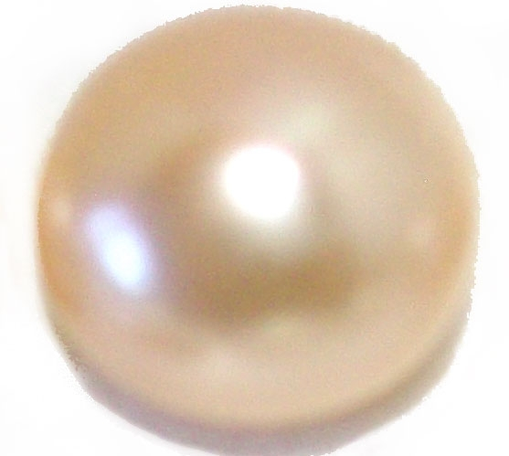 Large 14-15mm AA+ Loose Button Pink Pearl