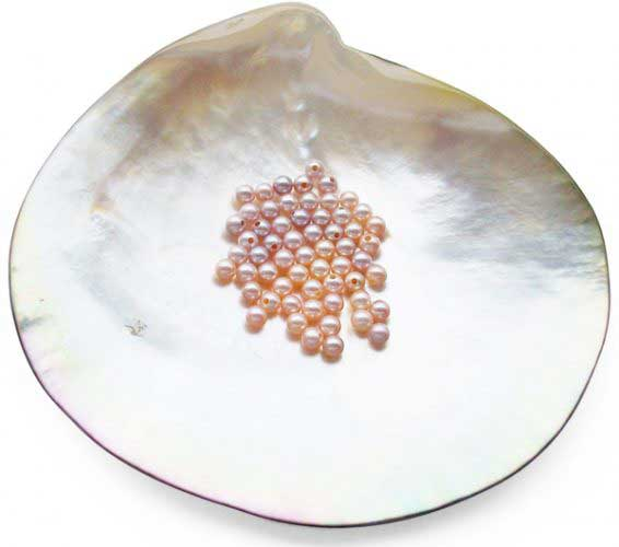 Mauve 2.5-3mm Loose Round AA+ Pearl, Undrilled or Half Drilled
