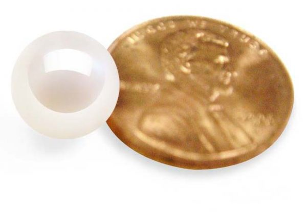 White 9-9.5mm Loose AAA Round Pearl, Undrilled or Half Drilled