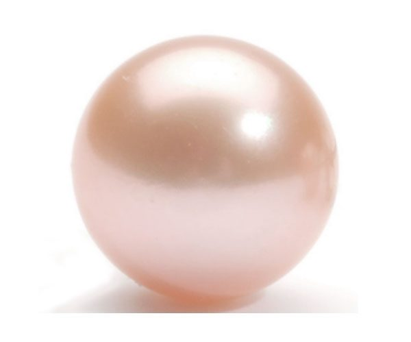 14mm Huge Pink AA+ Pearl Half-Drilled