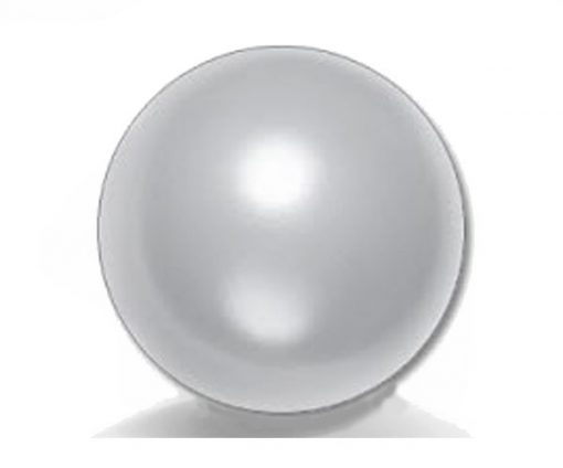 14mm Huge Gray AA+ Pearl Half-Drilled