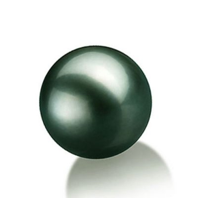 10-10.5mm Round High Quality Tahitian Green Loose Pearl