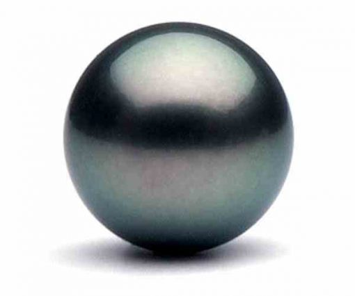 11mm Loose Round Tahitian Peacock Pearl AAA Half Drilled