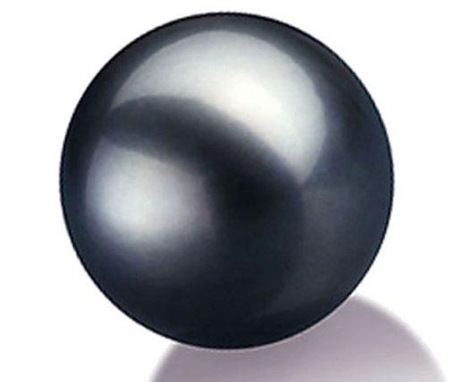 Large Tahitian Black Single Pearl, Un-drilled or Half-Drilled