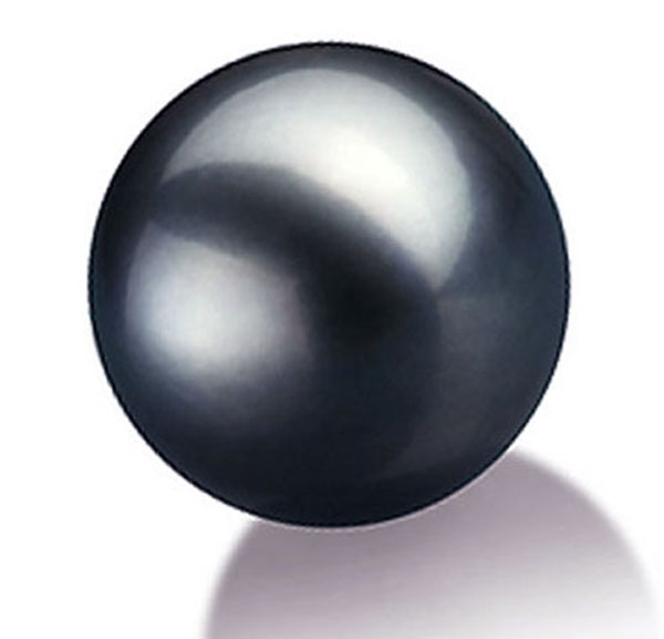 13 5 14mm Large Round Tahitian Black Pearl High Quality