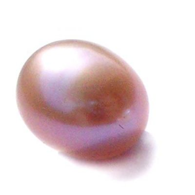Lavender 9-10.5mm Loose AA+ Drop Pearls, Undrilled or Half-Drilled
