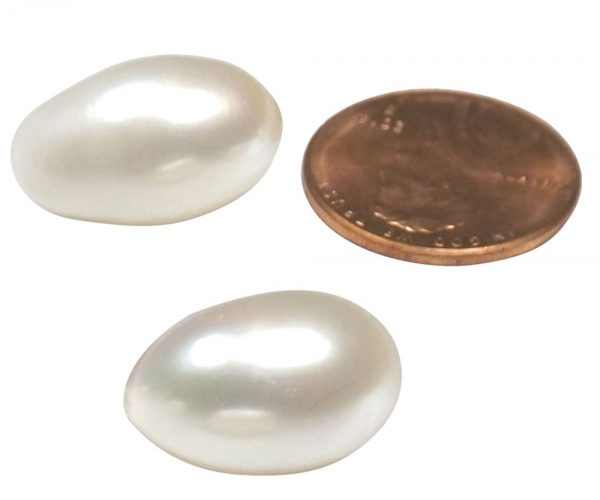 10-11mm Loose AA+ Drop Pearl, Undrilled or Half-drilled