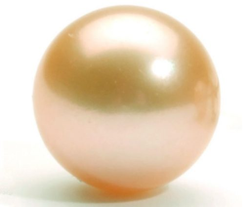 Pink Colored Edison Huge 14-15mm Round Pearl