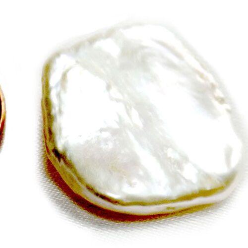 Keepsake White Freshwater Cultured Biwa Pearl