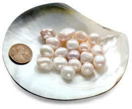 Untreated Loose Baroque Pearls