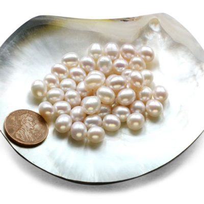 White Drop Pearls