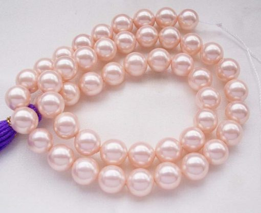 Pale Pink 8mm SSS Pearl Strands