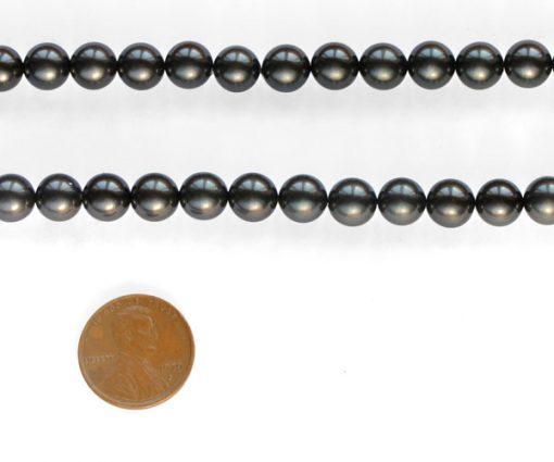 Black 8mm SSS Pearl Strands