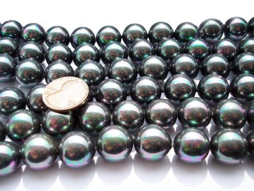 Silver Grey 14mm SSS Pearl Strands