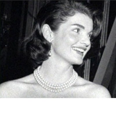 Jackie O 3-row pearl necklace