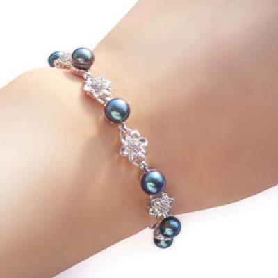 Black Pearl Bracelet - XO Bracelet