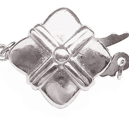 925 SS Square Shaped Clasp