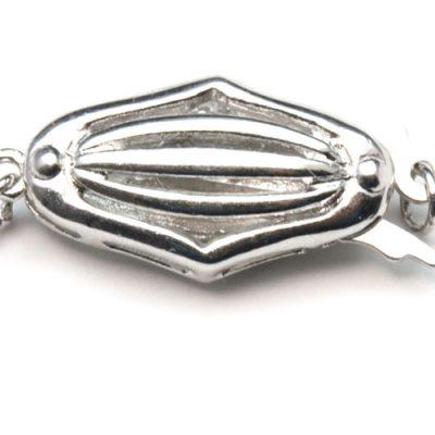 925 SS Diamond Shaped Clasp