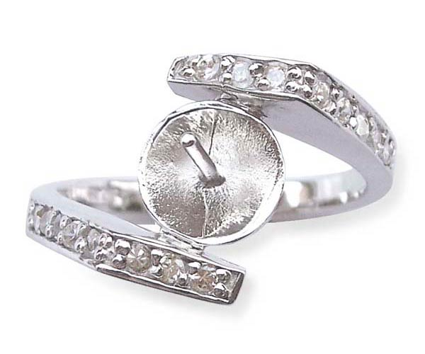 925 SS Simple Ring Setting