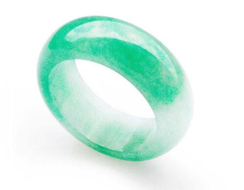 Light Green Real Jade Ring