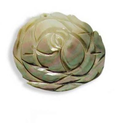 Flower Shaped MOP Pendant