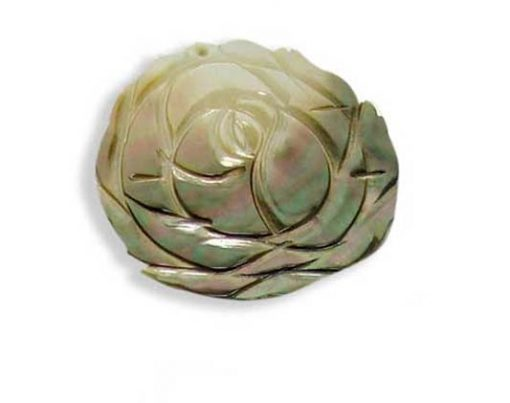 Flower Shaped MOP Pendant
