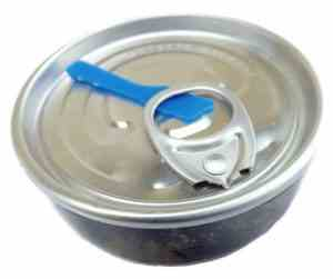 Pearl in a Can - A pearl Oyster with A Round Pearl Inside
