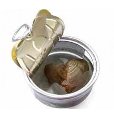 Pearl in Oyster Can