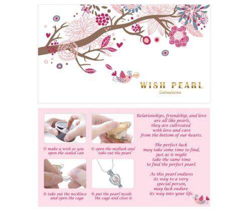 Wish Pearl Gift Set Lavender Flower Box