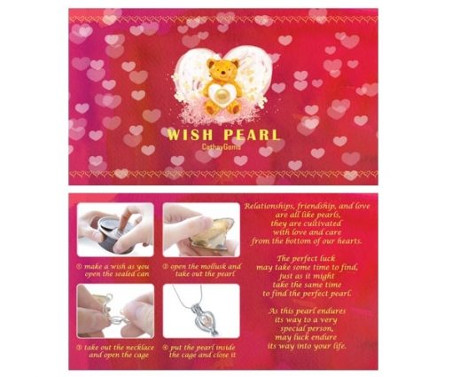 Wish Pearl Gift Set Red/Bear Box