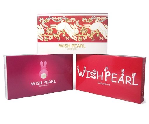 Wish Pearl Gift Set Red and Red/Rabbit Box